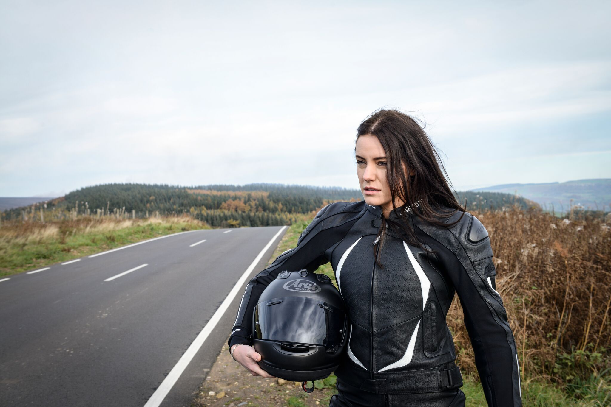 Dámská kožená bunda na motorku RST BLADE II