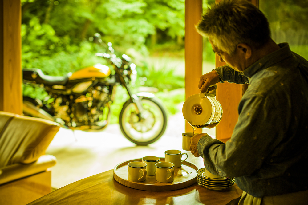 Café racer motorky