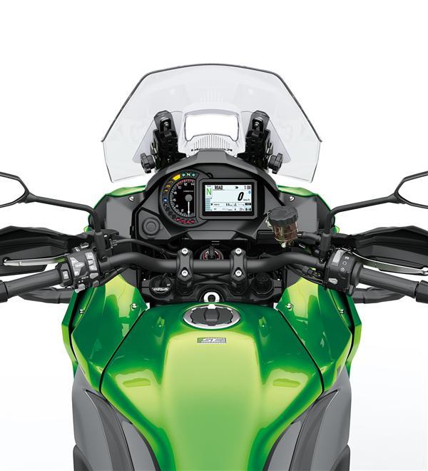 Kawasaki Versys 1000 jízdní módy