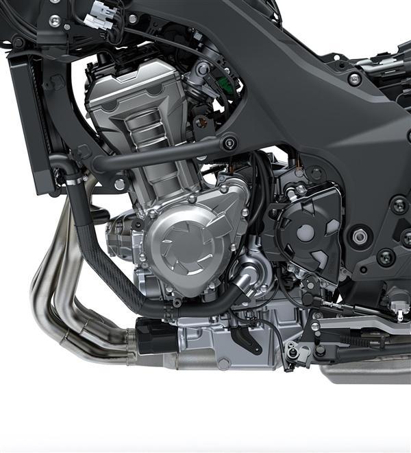 Kawasaki Versys 1000 elektronický plyn