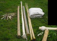 Viking Celtic Historical Tent Market Construction