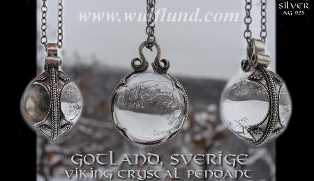 Berg Kristall Gotland Viking Jewels Sweden