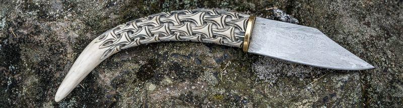 Kované historické nože