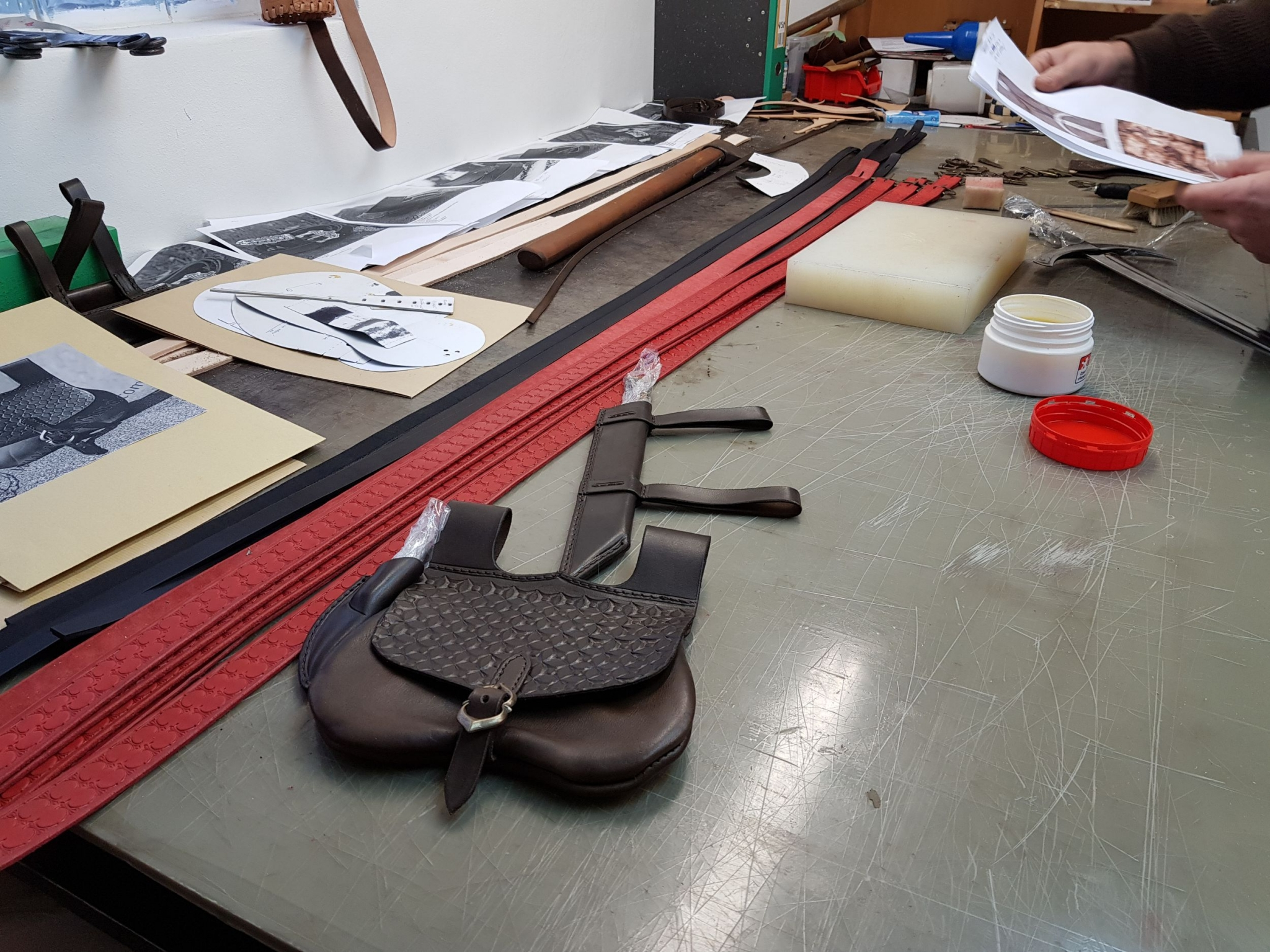 Saddlery workshop