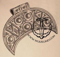 Mikulčice Velká Morava Šperk