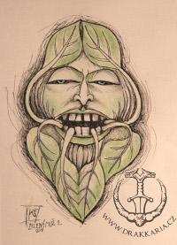 Zelený Muž Tvář