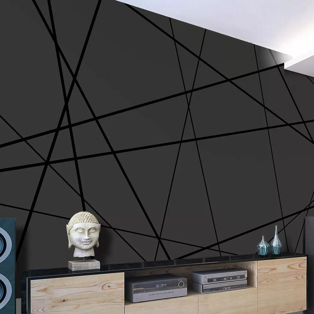Tapety v geometrických tvaroch - tmavšie klasické trojuholníky