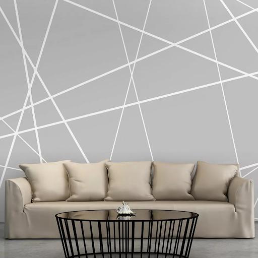Tapety v geometrických tvaroch - svetlejšie klasické trojuholníky