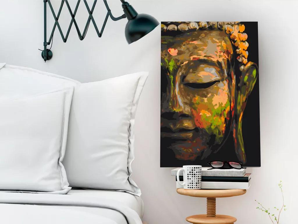Maľovanie podľa čísel - Budha