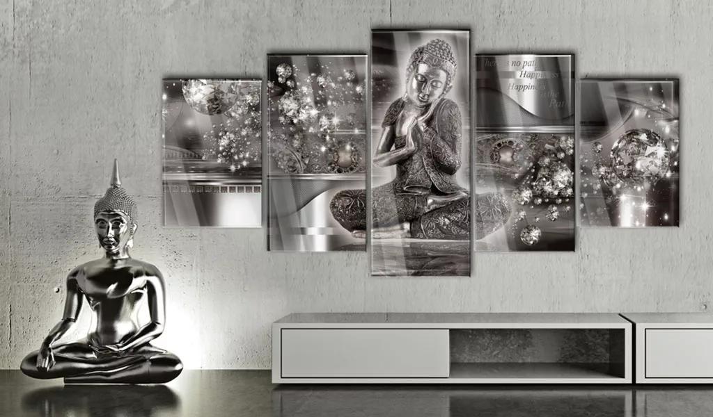 Obraz na akrylátovom skle Budha