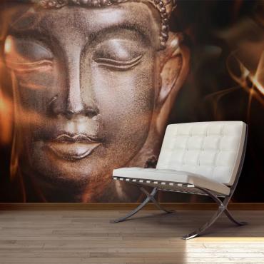 Fototapeta Budha obklopený ohňom