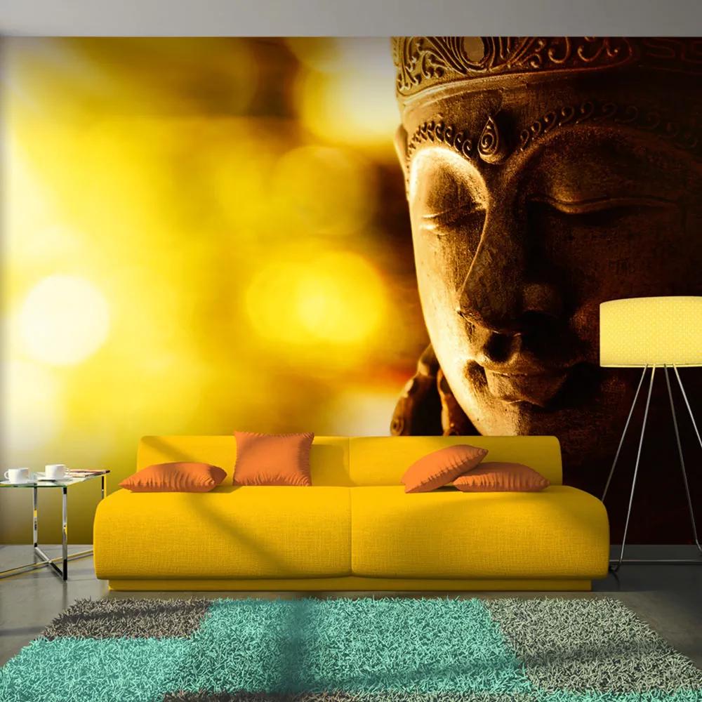 Fototapeta osvietený Budha