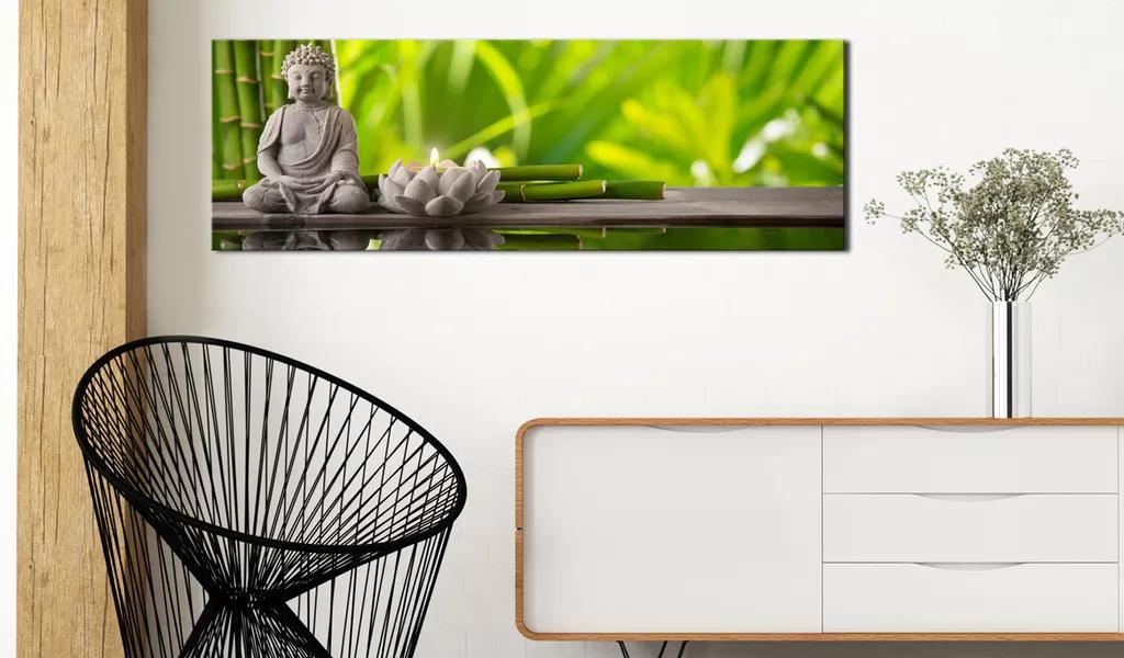 Obraz Budha na lotosovej základni