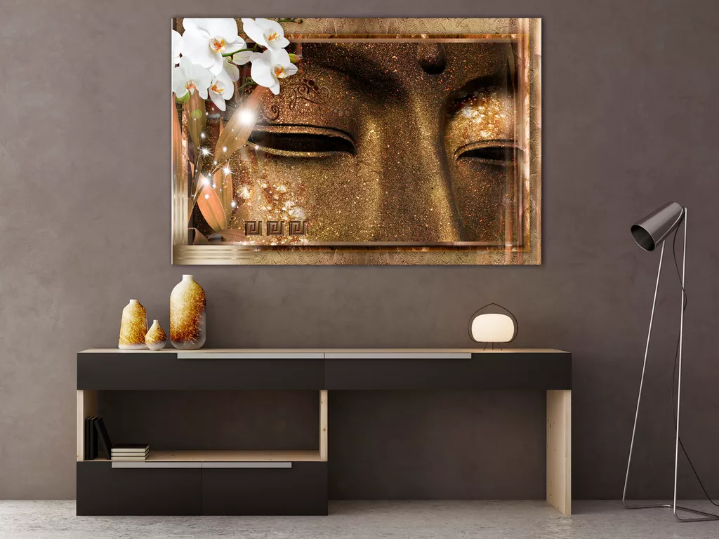 Obraz oči Budhu