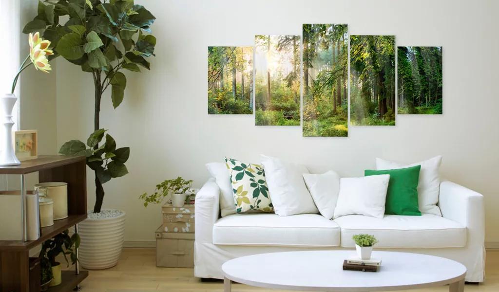 Obraz svätyňa prírody na akrylátovom skle
