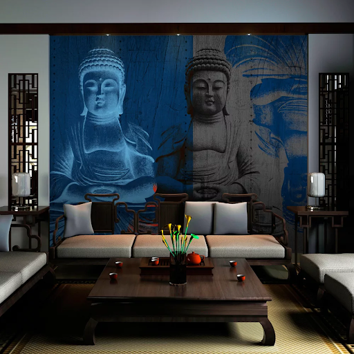 Fototapeta tri podoby Budhu