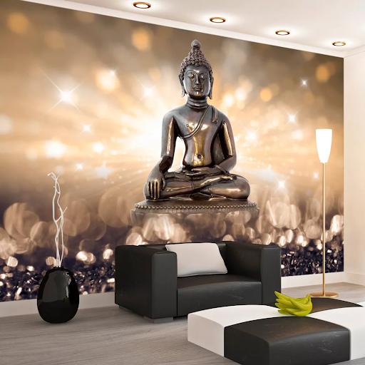 Tapeta Budha v metalických farbách dovido