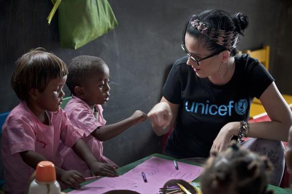 Unicef pomoc Katy Perry