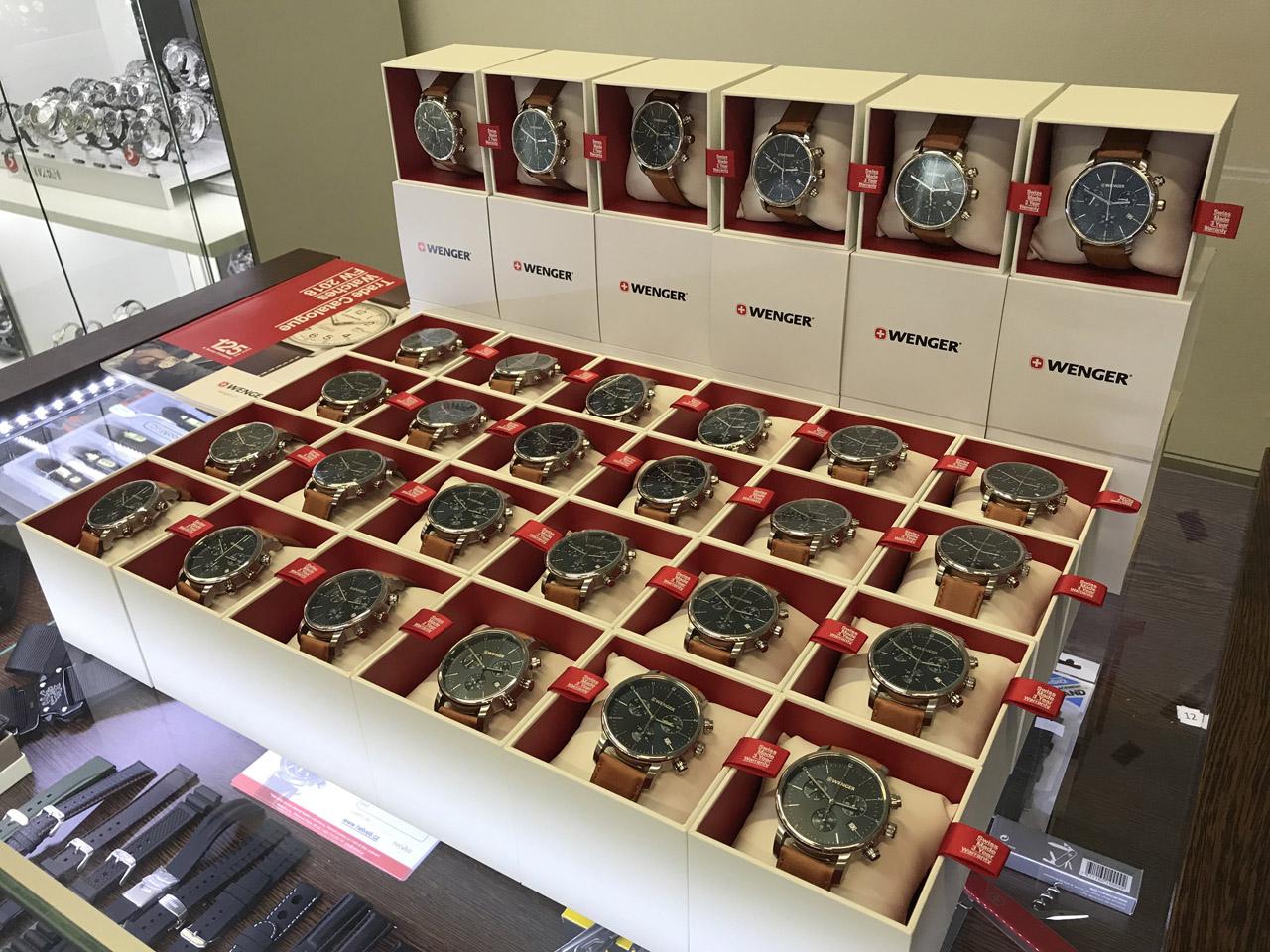 Dodávka hodinek Wenger