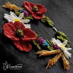 Luuthien - náhrdelník Z chodských luk a polí