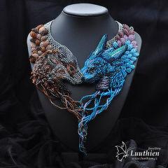 Luuthien - nárhdelník Grey Wind and Meraxes