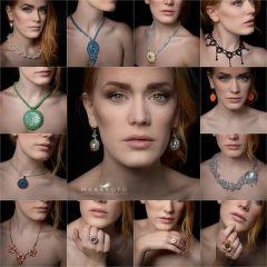 Koláž šperků Společnýma rukama