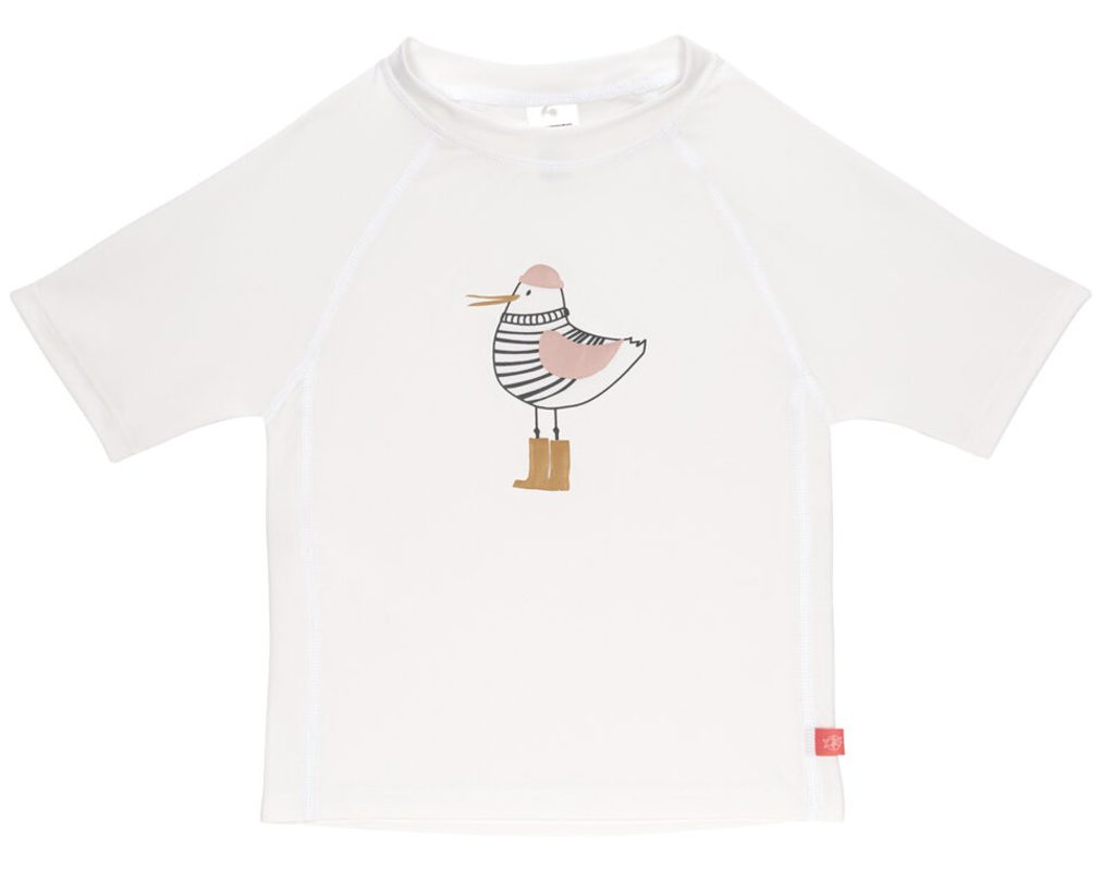 Lässig Splash Short Sleeve Rashguard mrs. seagull white 12 mo.