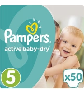 Pampers Active Baby Maxi+ 50ks