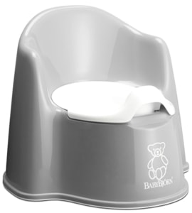 BABYBJORN Nočník křesílko Potty Chair Grey