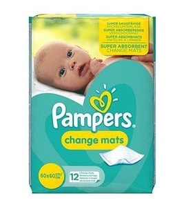 Pampers Changemats 12