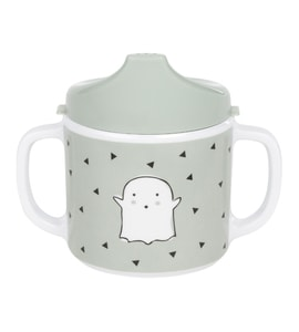Lässig 4babies Cup with Silicone Little Spookies olive