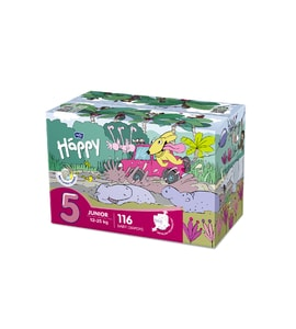 Bella Baby HAPPY Junior Box 58 x 2 ks