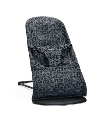 BABYBJÖRN Lehátko Bouncer Bliss Anthracite/Leopard Mesh SOFT Collection
