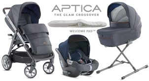 Inglesina Aptica 4v1 Darwin 2020 Tailor Denim