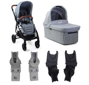 valco baby Valco Snap Ultra Trend Grey Marle s korbou