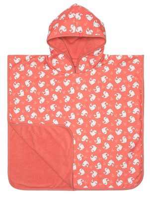 Lässig Splash Beach Poncho Girls seal