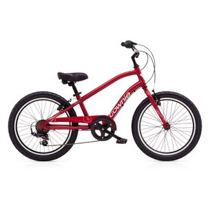 "ELECTRA KIDS➜ 20"" Townie 7D Boys' Electric Red"