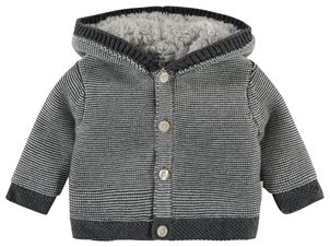 Noppies Cardigan Quartz Grey Melange