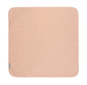 Lässig Muslin Hooded Towel light pink
