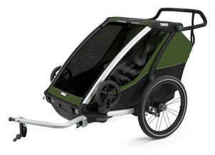 Thule Chariot Cab2 CypresGreen 2021