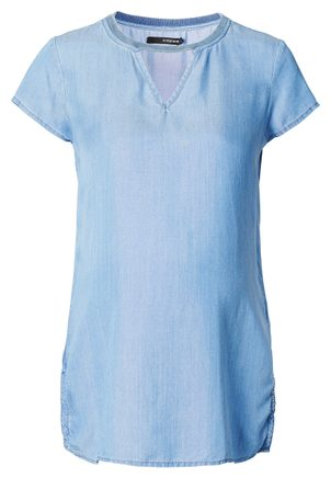 Noppies Supermom Blouse Denim Light Blue