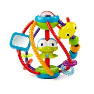 Bright Starts Clack & Slide Activity Ball™ (6 m+)