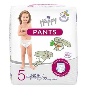 Bella Baby Happy PANTS Happy PANTS plenkové kalhotky Junior á 22 ks
