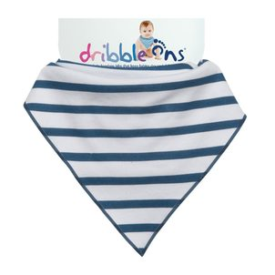 Kikko Dribble Ons Designer Nautical Stripes