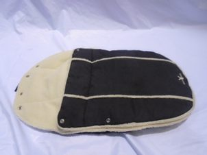 Bazar Wallaboo Footmuff newborn (Classic baby black)