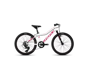 GHOST LANAO R1.0 AL - Star White / Ruby Pink