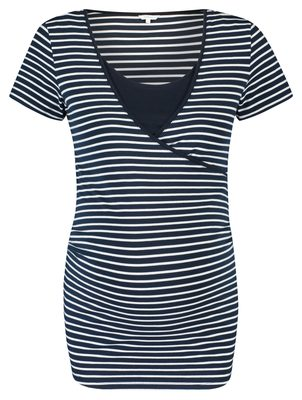 Noppies Nursing T-Shirt Paris Night Sky Stripe