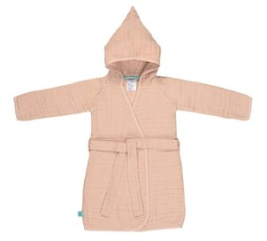 Lässig Muslin Bathrobe light pink 24-36m.