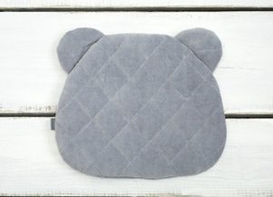Sleepee Polštář Royal Baby Teddy Bear Pillow šedá