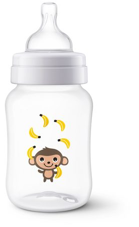 Philips AVENT Láhev Anti-colic 260ml opice